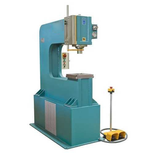 National Hydraulic Semi Automatic C Frame Hydraulic Press Machine