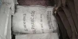 Imported Indian Sulphamic Acid, For Textiles Ind, Grade: Industrial