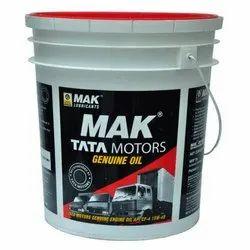 MAK Lubrication Oil, Packaging Type: Bucket