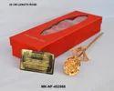 Mki Gold 24k Dipped Rose
