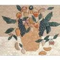Capstona Fruit Basket Medallions and Murals