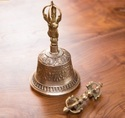 Buddhist Bell With Dorje