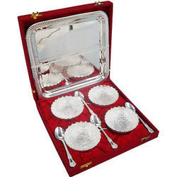 4 in 1 Mukhwas Set With Tray