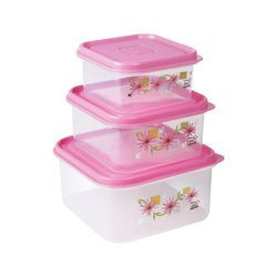 Croma PP Food Grade Container  3PC 300, 600,1200