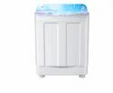 White Haier Semi Automatic Washing Machine