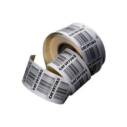 Paper Printed Barcode Labels Roll