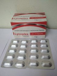 Lutein, Lycopene with Multi Vitamins and Multi Minerals Softgelatin Capsule