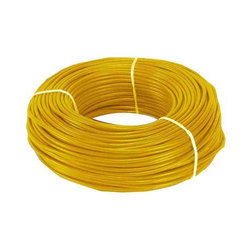 Yellow PVC Residential Electrical Wire