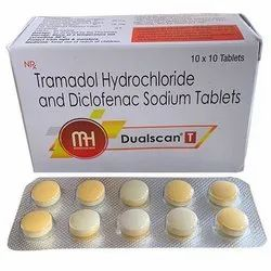 Tramadol Hydrochloride And Diclofenac Sodium Tablets