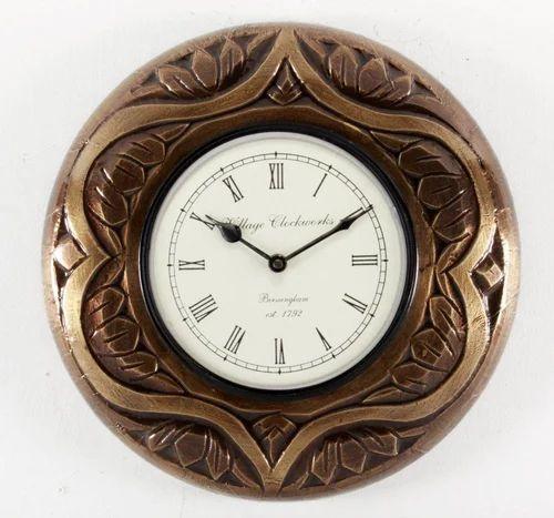 Wooden Carving Wall Clocks