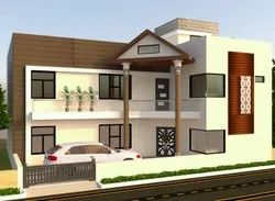Residential Modular With Material Construction Work