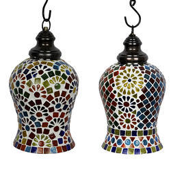 Traditional Mosaic Ceiling Hanging Pendant, For Decoration
