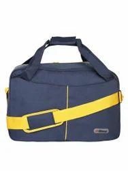 Blue & Yellow Travel Bag