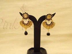 Coin Bali Laxmi Ji South Indian Coin Earrings