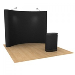 Curved Magnetic Pop Up System