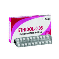 Ethinylestradiol Tablets BP 0.05 mg