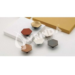 308 Hexa Stainless Steel Cabinet Knob