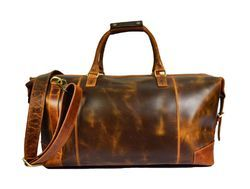 Leather Travel Bags at Best Price in India 575a15f4687f7