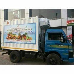 12 Feet Refrigerated van