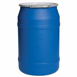 HDPE Blue Plastic Storage Barrel, Capacity: 30-210ltr