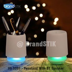 Nologo 2.0 Pen Stand Bluetooth Speaker with Changing Light
