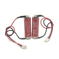 Maxell ER6C 3.6V 2000mah Horned Lithium Li-ion Battery PLC Battery with White Plug