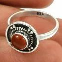 Good Fortune 925 Sterling Silver Rainbow Moonstone Ring