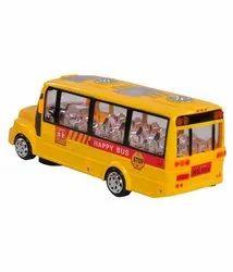 Plastic Kids Bus Toy, For School/play School