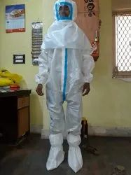 PPE Kit With Coverall Cap