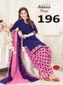 Keshvi fashion crepe unstiched dress material