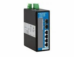 6-port 100M/Gigabit Layer 2 Unmanaged Industrial Ethernet Switch