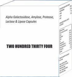 Alpha Galactosidase Amylase Protease Lactase and Lipase Capsules