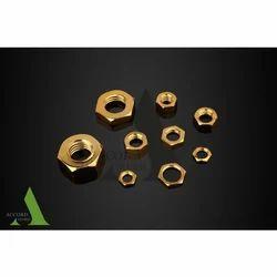 Hexagonal Brass Nut