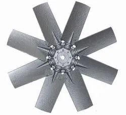 Aluminum Impeller 6 Blade Dia 1400 mm