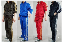 Medium And Large Polyester Mens Track Suits