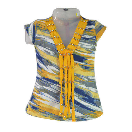 0a2907d31 Multicolor Party Wear Baby Stylish Top