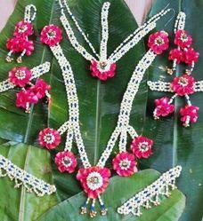Red Bridal Jewelry