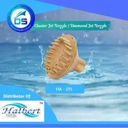 Fountain Cluster Jet Nozzle, Diamond Jet Nozzle - HA-273