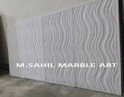 White Wave Tiles