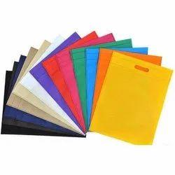 Handled Plain D Cut Non Woven Bag, Packaging Type: Packets, Capacity: 1-3 Kg