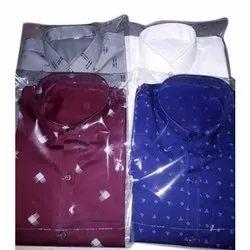 Printed Mens Regular Fit Cotton Shirt
