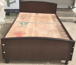 Modern Brown Wooden Foldable Bed