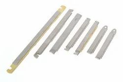 Stainless Steel Rapier Electrical Contact Bar, Packaging Type: Corrugated Box