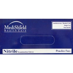 Medishield Examination Nitrile Powder Free Gloves