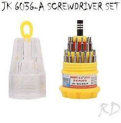 Jackly JK 6036-A 31 in 1 Magnetic Screwdriver Set