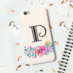 Personalized Phone Cover With Floral Pattern
