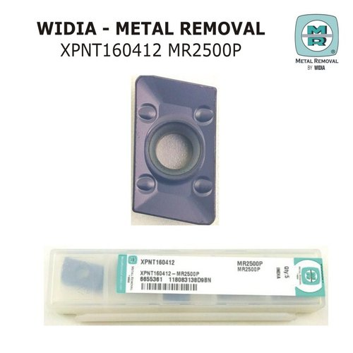 PACK OF 10 WIDIA METAL REMOVAL CARBIDE INSERTS CCMT09T304MRT1 MR2000P
