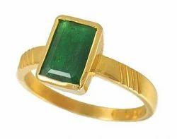 Natural Emerald Ring (Ashtadhatu)