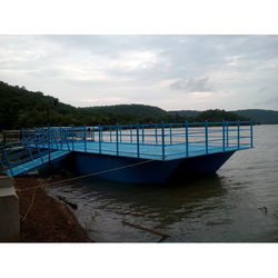 FRP Floating Jetty ( Small) with 40 HP 2 Stroke