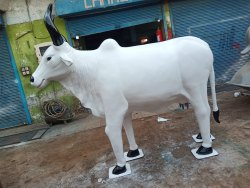 FRP Cow Statue
